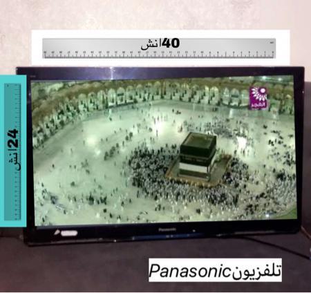 شاشه تلفزيون Panasonic بانسونيك  40 انش LED تلفزيون ذكي اسود