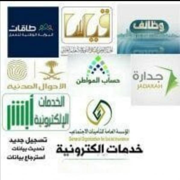خدمات إلكترونية حكومية