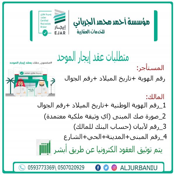 مؤسسة احمد محمد الجرباني للخدمات العقارية