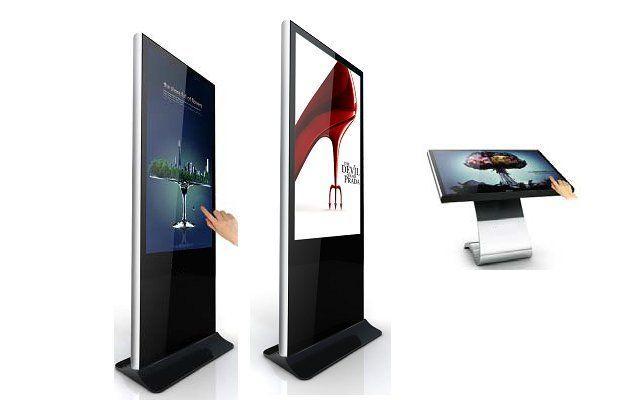 شاشات عرض تفاعلية اعلانية