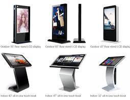 شاشات اعلانية تفاعلية