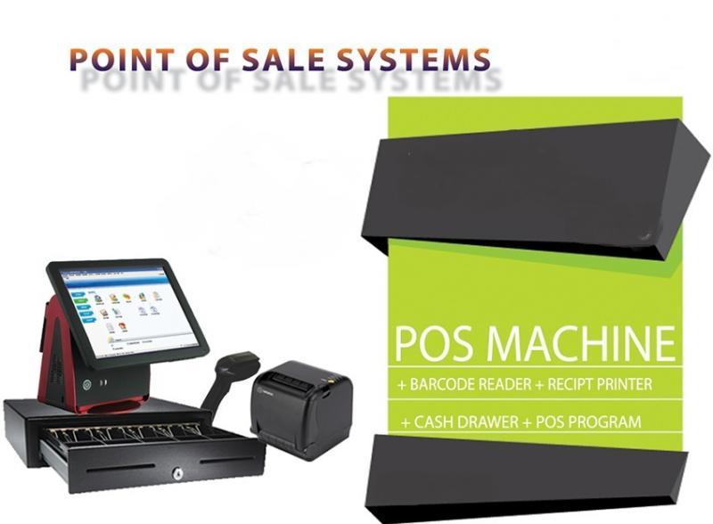 اجهزة الكاشير ونقاط البيع  POS SYSTEMS