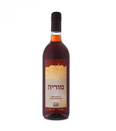 יין אדום מתוק מוריה 750 מ
