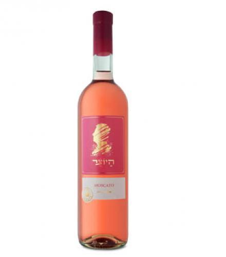 יין מוסקטו רוזה היוצר ארזה בד