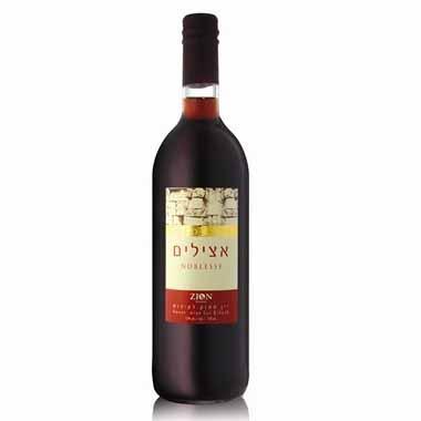 יין אצילים אדום מתוק 750 מ
