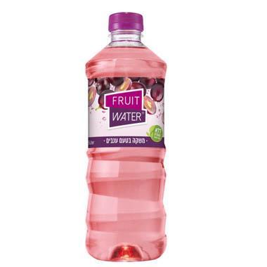 מי פירות בטעם ענבים 1.5 ליטר הרב רובין