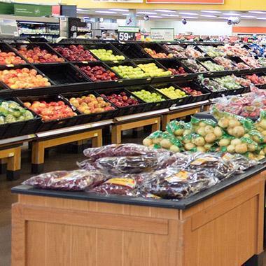 מכירות מבחר ירקות במחירים מוזלים במכירות מיוחדות