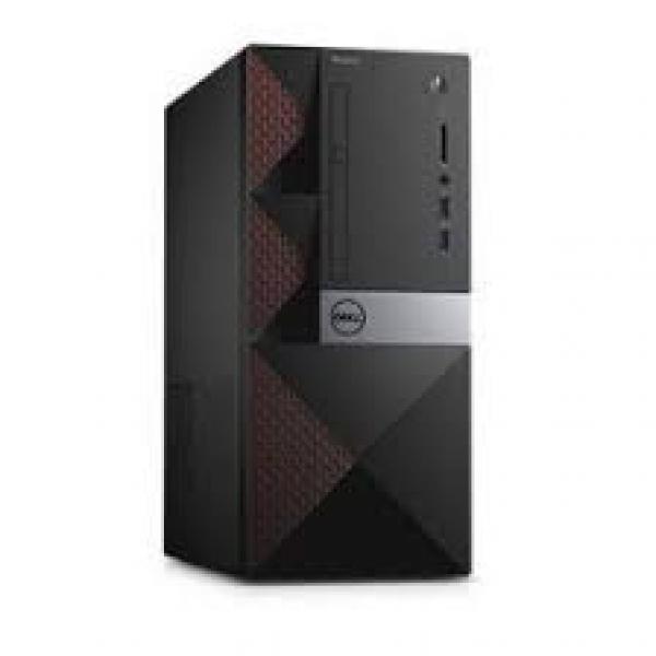 מחשב נייח ממותג של Dell מסדרת VOSTRO עם מעבד i3.