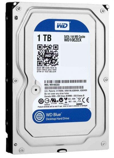 דיסק קשיח פנימי 1 TB Western Digital