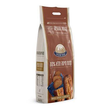 קמח מלא 80% מנופה