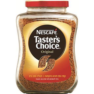 קפה נמס טסטרס צ'ויס 200 גרם - NesCafe