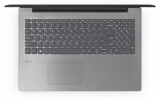 מחשב נייד של lenovo מסדרת IdeaPad עם מעבד . Celeron N4000