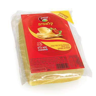 גבינה צהובה 400 גר 28% עמק סמי