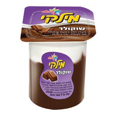 מילקי- מעדן שוקולד עם קצפת 170מ