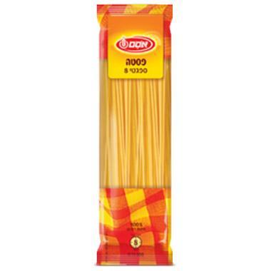 פסטה ספגטי אסם מס' 8 250 גרם