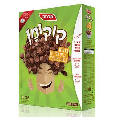 דגני קוקומן צדפים בטעם שוקולד מתכון חדש בד
