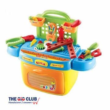 משחק עם כלי עבודה לילדים מבית CITYSPORT