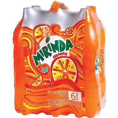 מרינדה 6 יחידות 1.5 ליטר