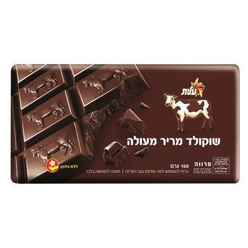 שוקולד פרה מריר פרווה 100 גרם - עילית