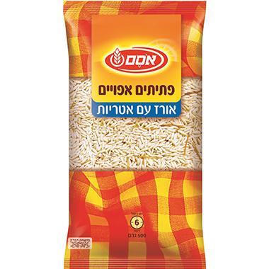 פתיתים אפויים אורז ואטריות 500 גרם