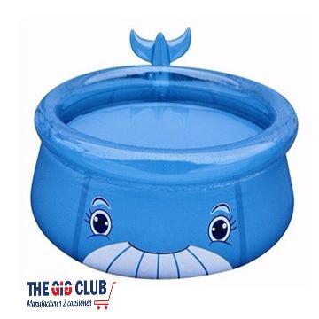 בריכה מתנפחת לילדים בצורת לווייתן מבית CITYSPORT