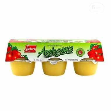 רסק תפוחי עץ ללא תוספת סוכר שישיה ליבר'ס
