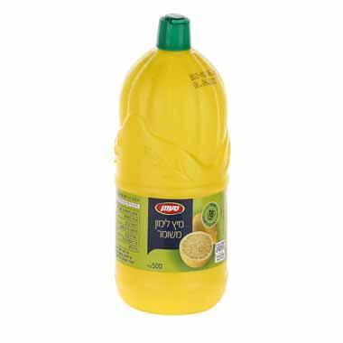 מיץ לימון סחוט 500 מ