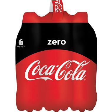 קוקה קולה זירו 1.5 ליטר שישייה