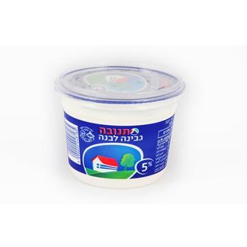 גבינה לבנה 250 גרם 5% כשל