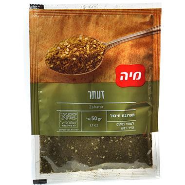 תבלין זעתר בשקית 50 גרם מיה