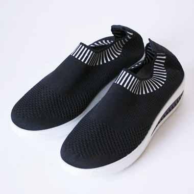 נעלי ספורט  גבוה שחור לבן