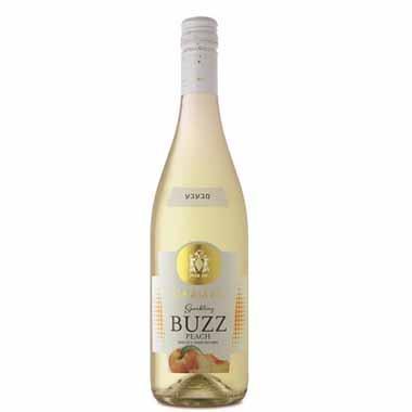 יין לבן מבעבע BUZZ אפרסק 750 מ