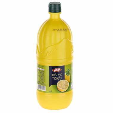 מיץ לימון 1 ליטר טעמן עד
