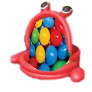 בריכה מתנפחת בצורת צפרדע מבית CITYSPORT