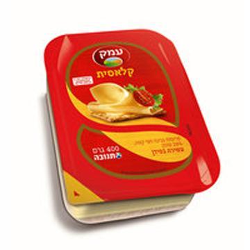 גבינה צהובה עמק 400 גרם 28 אחוז תנובה כשל