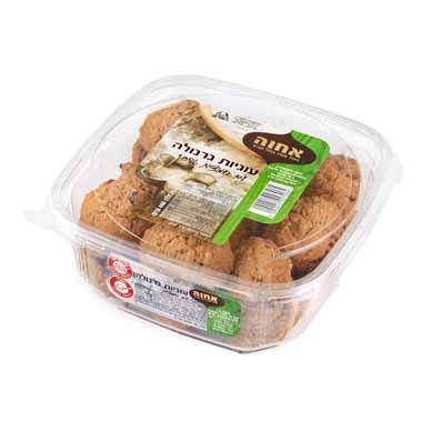 עוגיות גרנולה עם חמוציות 400 גרם אחוה