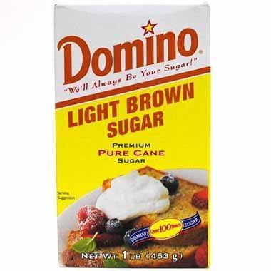סוכר חום בהיר 453 גרם דומינו