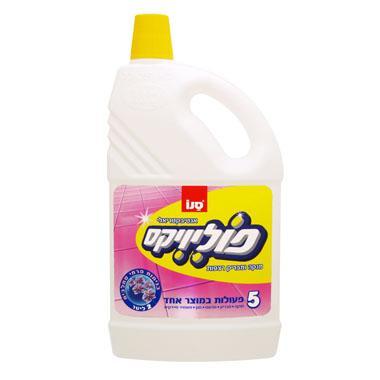 מנקה רצפות סחלבים 2 ליטר פוליויקס - סנו