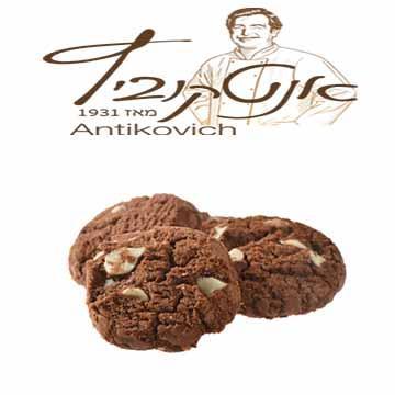 עוגיות שוקוצ'יפס אנטקוביץ 600 גרם