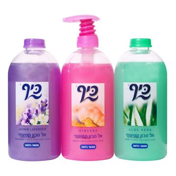 אל סבון נוזלי בצבעים שונים 500 מ