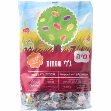 סוכריות ג'לי שמחות מיה 600 גרם