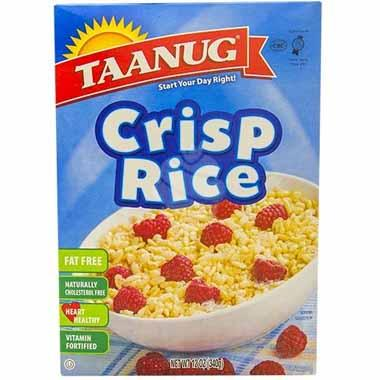 דגני בוקר פצפוצי אורז 340 גרם תענוג