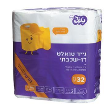 נייר טואלט טאצ' 32 יחידות