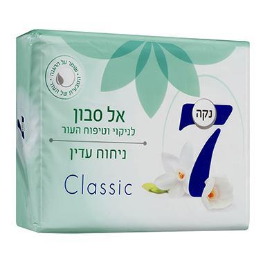 סבון מוצק מבושם בניחוח עדין ירוק נקה 7 - 4*100 גרם