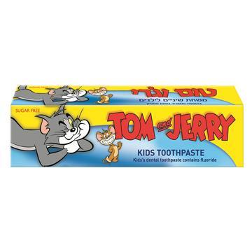 משחת שיניים לילדים בטעם מסטיק - טום וג'רי