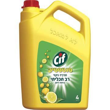 נוזל לניקוי כללי פנטסטיק סיף (4 ליטר)