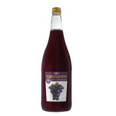 מיץ ענבים אדום תירוש מובחר 1 ליטר עד