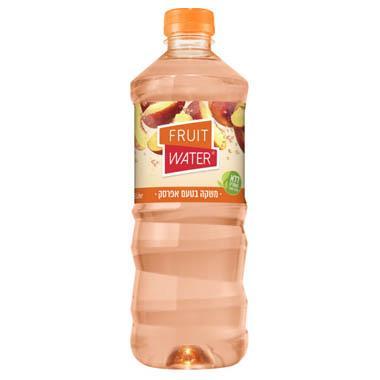 מי פירות בטעם אפרסק 1.5 ליטר הרב רובין