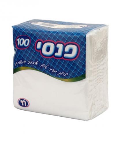 מפיות לבן  פנסי 100 יחידות חי