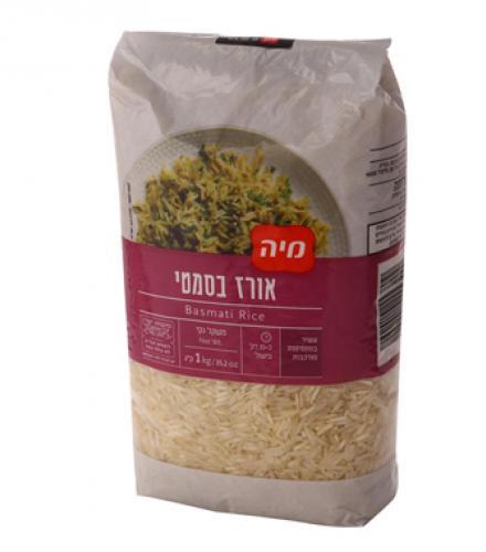 אורז בסמטי הודי 1 ק